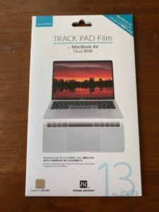 Track Pad Film for MacBook Air 13インチ (2018)