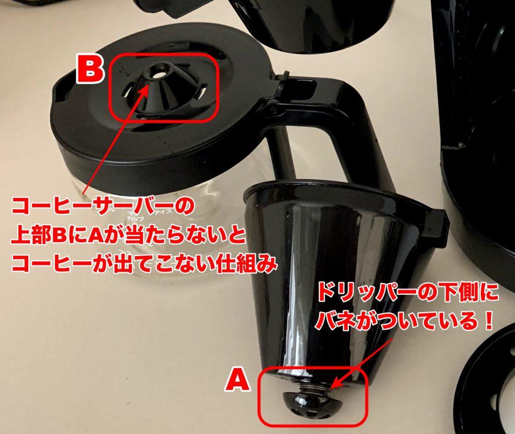 siroca コーン式全自動コーヒーメーカー SC-C111