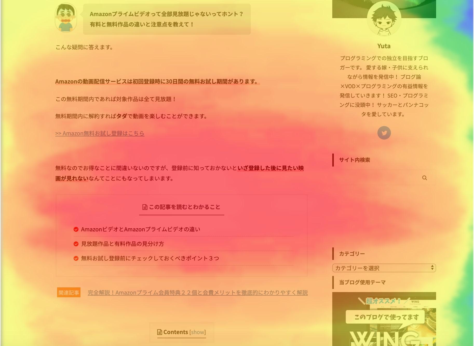 UserHeat(熟読)